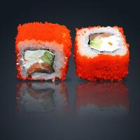 Сливочный ролл с лососем